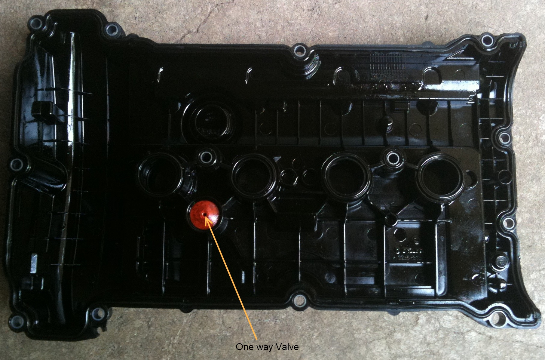 Valve Cover Replacement Plugged Pcv Valve North American Motoring